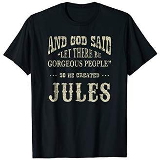 Personalized Birthday Gift For Person Named Jules TShirt