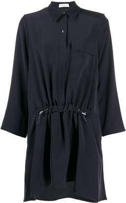 Áeron drawstring-waist shirt dress