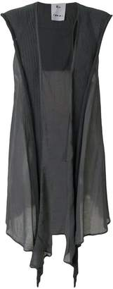 Lost & Found Rooms sleeveless draped waistcoat