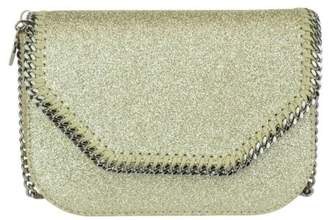 Stella McCartney Mini Falabella Glitter Crossbody Bag