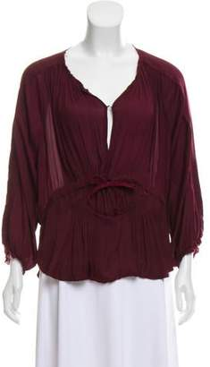 Etoile Isabel Marant Lightweight Distressed Top