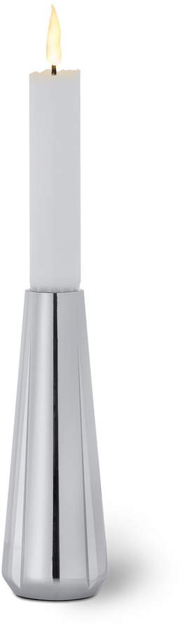 Rosendahl - Grand Cru Jubiläums Kerzenständer H 14 cm, Edelstahl poliert
