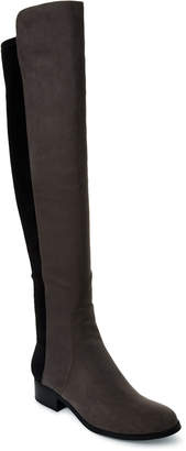 Unisa Grey Unhudy Over-the-Knee Boots