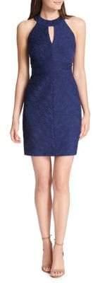 Eliza J Textured Sleeveless Sheath Dress