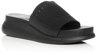 Cole Haan Women's 2.Zerogrand Stitchlite Knit Platform Slide Sandals