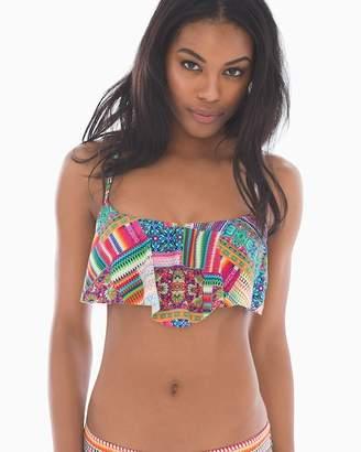 Gottex Profile Blush By Underwire Flutter Swim Bikini Top