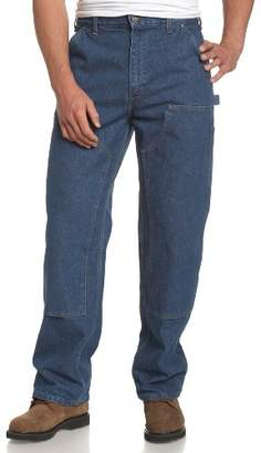 Carhartt Men's Logger Washed-Denim Dungaree B73