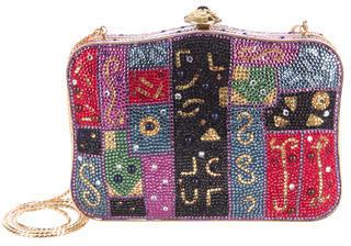 Judith Leiber Crystal Mosaic Minaudière $695 thestylecure.com
