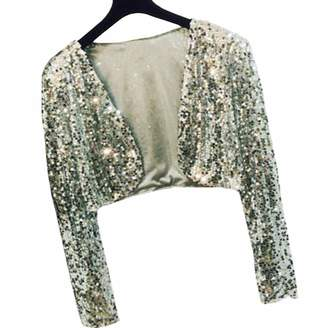 6f7be83eef YOUMU Women Sequins Cropped Cardigan Bolero Shrug Dance Shawl Shiny Sparkly  Show Tops