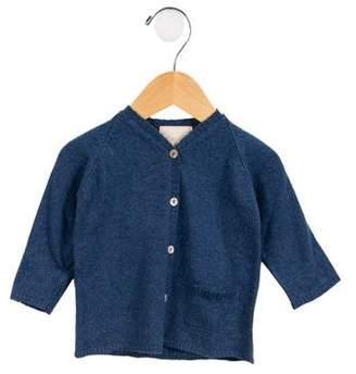 Milapinou Boys' Long Sleeve Button-Up Cardigan w/ Tags
