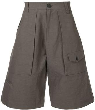 Isabel Benenato wide cargo shorts