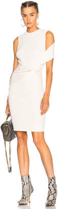 3.1 Phillip Lim Draped Wool Twist Tank Dress