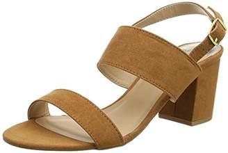 Dorothy Perkins Women's Sally Block Heel Open-Toe Sandals,38 EU