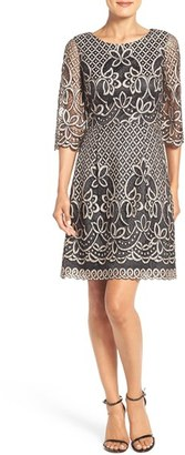 Eliza J Bell Sleeve Fit & Flare Dress $158 thestylecure.com