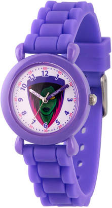 Marvel Guardian Of The Galaxy Girls Purple Strap Watch-Wma000143
