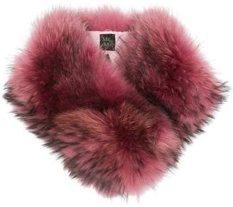 Mr & Mrs Italy raccoon fur collar