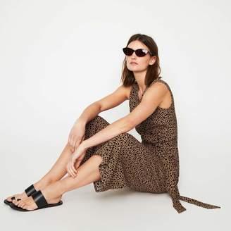 82cb1276c88f Warehouse Animal Print Culotte Jumpsuit