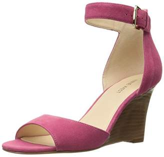 Nine West Women's Farlee Suede Wedge Sandal