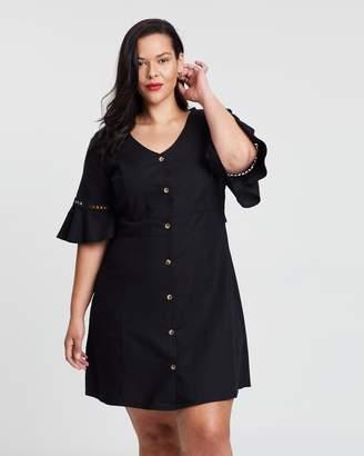 Jessie Frill Sleeve Dress