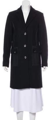 MICHAEL Michael Kors Knee-Length Button-Up Coat
