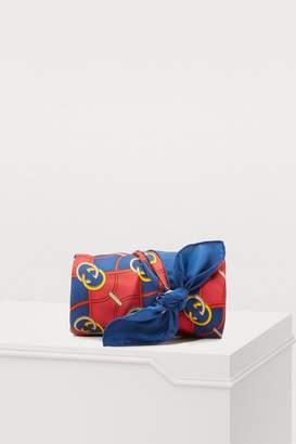 Gucci GG waves silk scarf