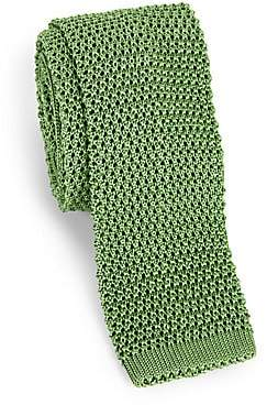 Charvet Men's Solid Silk Knit Tie