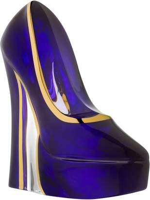 Kosta Boda Makeup Shoe Stiletto Shaped Sculpture