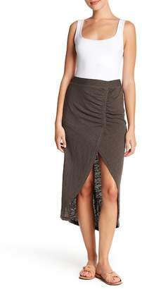 Susina Ruched Maxi Skirt (Regular & Petite)