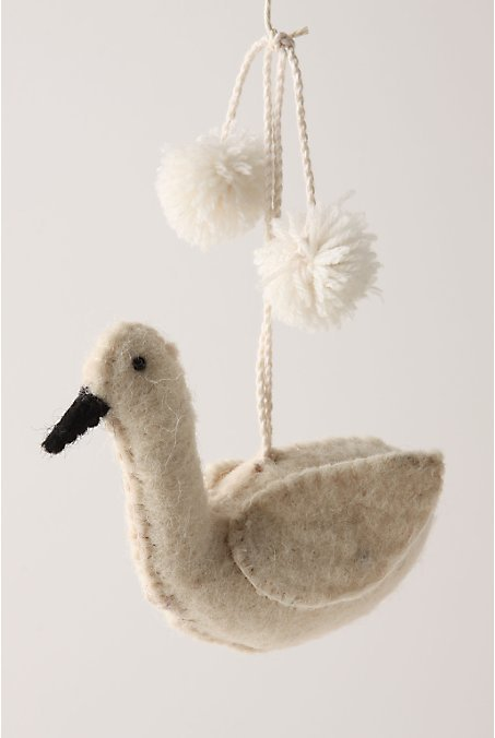 Grand Swan Ornament
