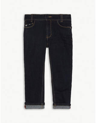 BOSS Washed slim fit denim jeans 4-16 years