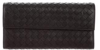 Bottega Veneta Leather Intrecciato Wallet
