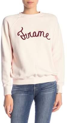 Frame Graphic Old School Sweatshirt