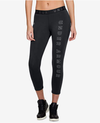 Under Armour (アンダー アーマー) - Under Armour Favorites Logo Cropped Leggings