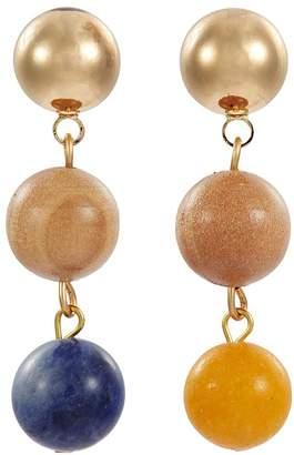 Sophie Monet 'The Droplet' bead drop earrings
