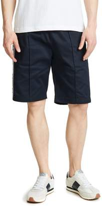 Champion Tape Logo Pintuck Shorts