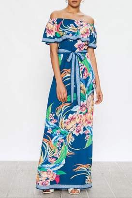 Flying Tomato Tropical Floral Maxi