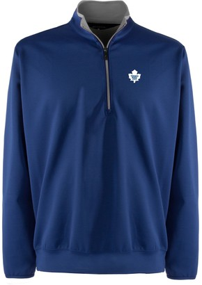 Men's Toronto Maple Leafs 1/4-Zip Leader Pullover