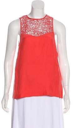Rag & Bone Embroidered Sleeveless Top