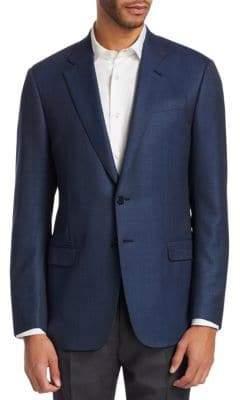 Giorgio Armani G Line Micro Checkerboard Sportcoat