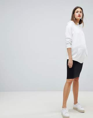 Mama Licious Mama.licious Mamalicious Seamless Tube Skirt