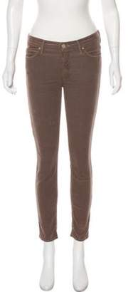 Mother Mid-Rise Corduroy Pants brown Mid-Rise Corduroy Pants