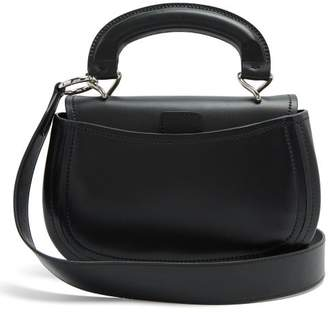 Lemaire Pumpkin Vegetable Tanned Leather Bag - Womens - Black