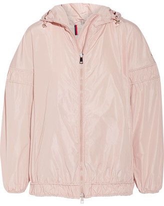 Moncler - Jarosse Hooded Shell Jacket - Pastel pink $725 thestylecure.com