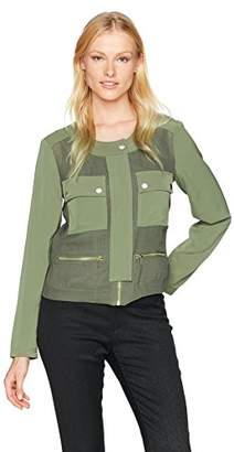 Jones New York Women's Doubleface Cropped Jacket