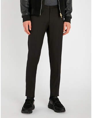 Corneliani CC Collection regular-fit tapered wool trousers