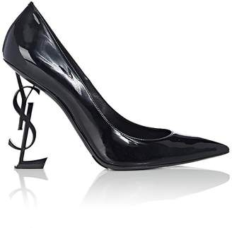 Saint Laurent Women's Opium Patent Leather Pumps $995 thestylecure.com