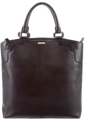 Cartier Grained Leather Handle Bag