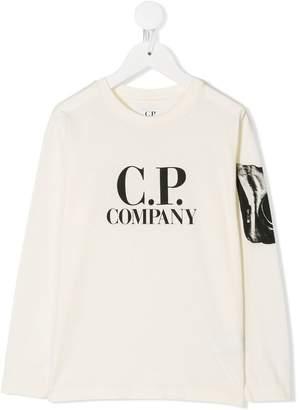 C.P. Company Kids long-sleeve printed T-shirt