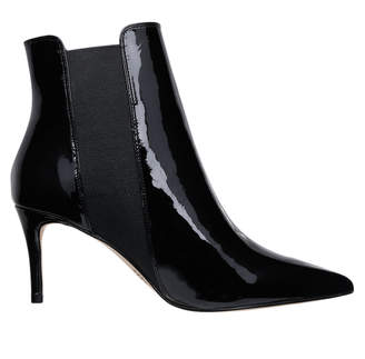 Babe Black Patent Leather Boot
