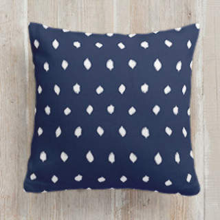 Woodberry Dot Self-Launch Square Pillows